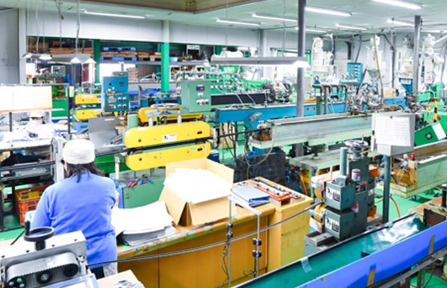 国内工場 主要設備 イメージ1